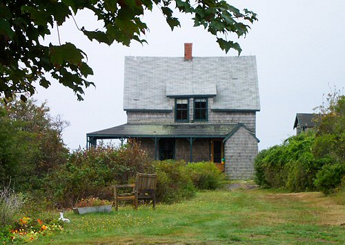The Pitkin House On The Bluffs On Cliff Island Maine