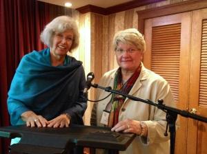 COPE presenters Charon Pierson and Geraldine Pearson = Pearson (or Pierson!) squared!