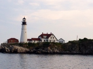 Portland Head Lighthouse from the bay